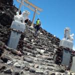 富士登山競走の練習まとめ(その1)